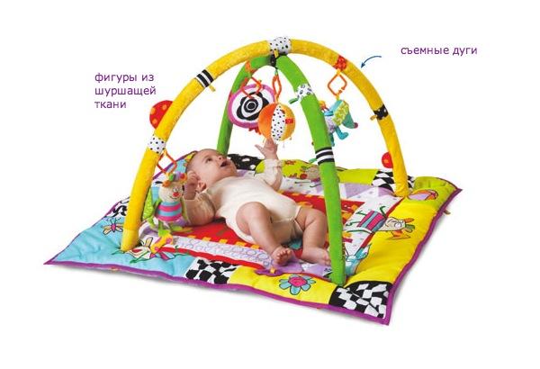 Игрушки для развивающих ковриков